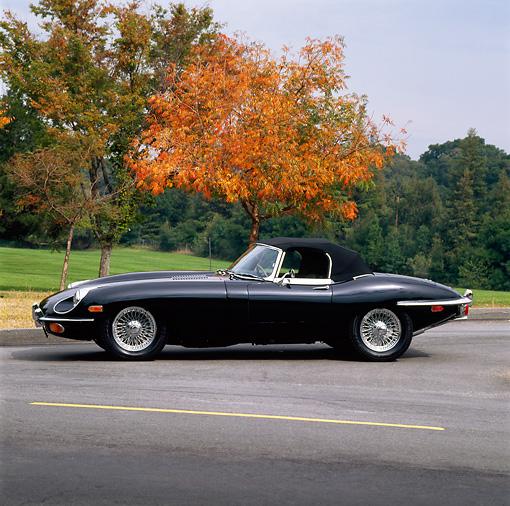 1966 Jaguar Xke Convertible: Car Stock Photos