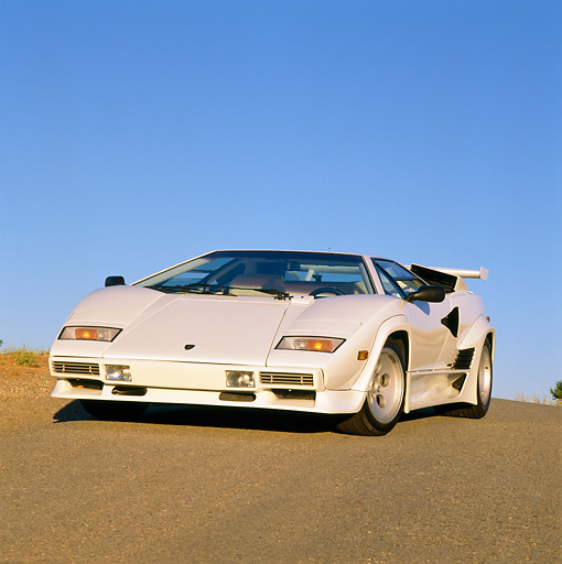 countach car stock photos kimballstock. Black Bedroom Furniture Sets. Home Design Ideas